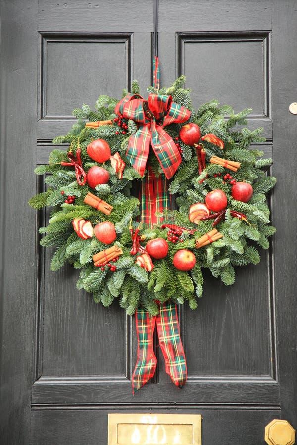 Roter Apfel und Paprikas Wreath