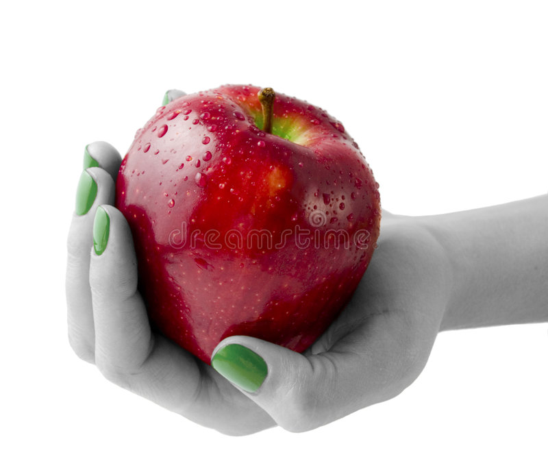 Roter Apple lizenzfreies stockfoto