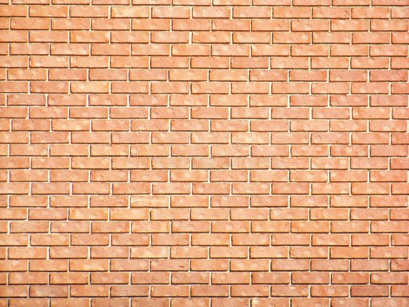 Roter Backsteinmauer-Lech stockbilder