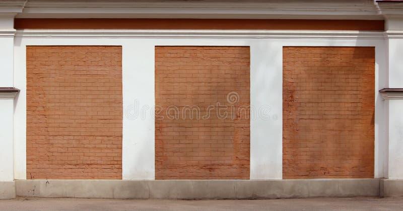 Roter Backsteinmauerbeschaffenheitshintergrund lizenzfreie stockfotografie