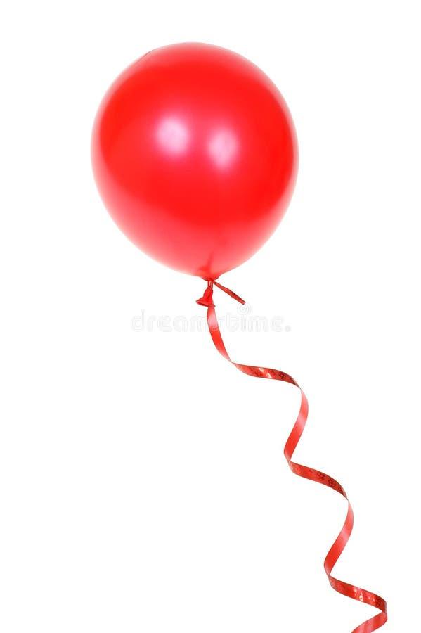 Roter Ballon Lizenzfreie Stockfotografie