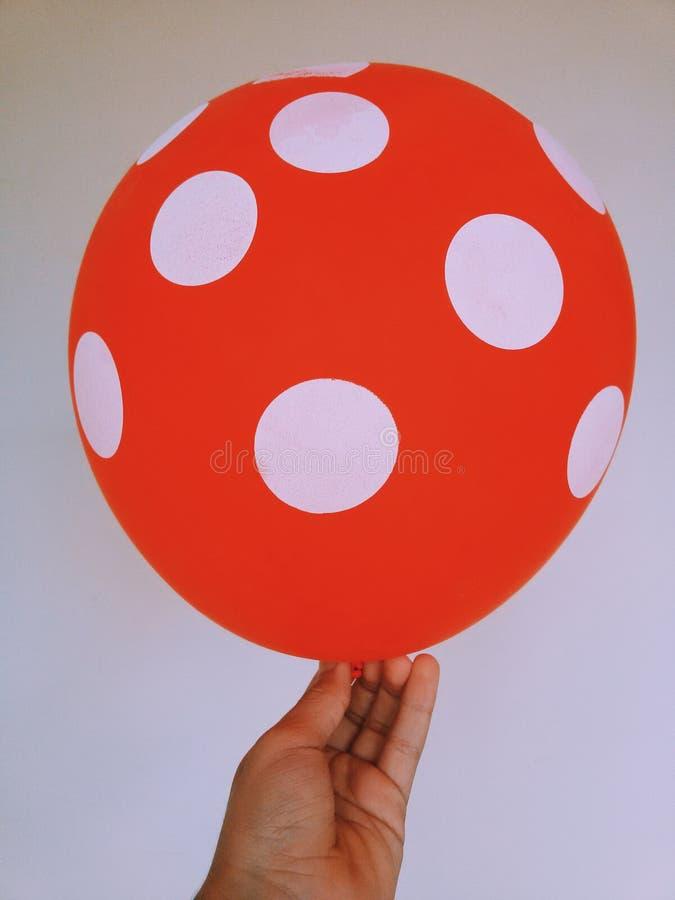 Roter Ballon stockfoto