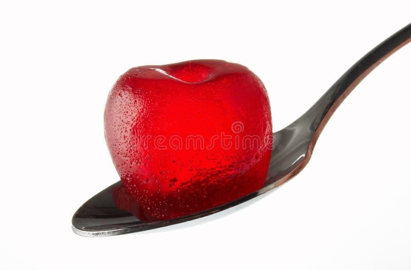 Roter Bonbon lizenzfreies stockfoto