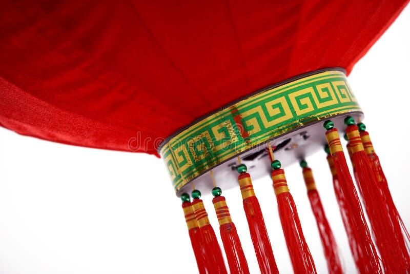 Roter chinesischer Laterne-Auszug lizenzfreie stockfotografie