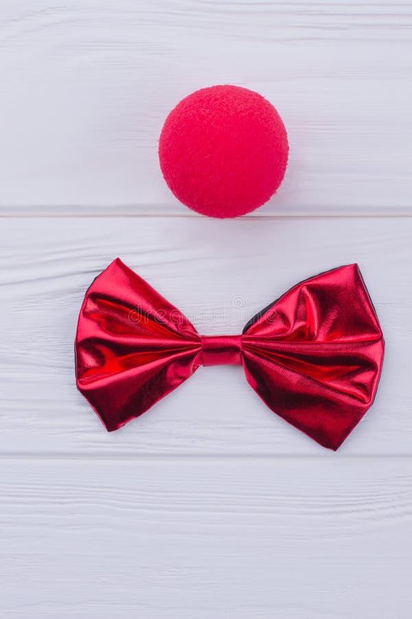 Roter Clownnasenschwamm und -Fliege lizenzfreie stockfotos