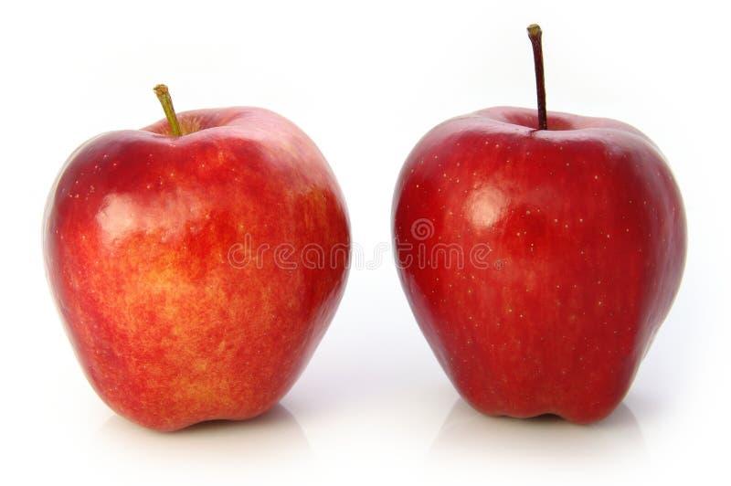 Roter-Deliciousäpfel lizenzfreie stockfotografie