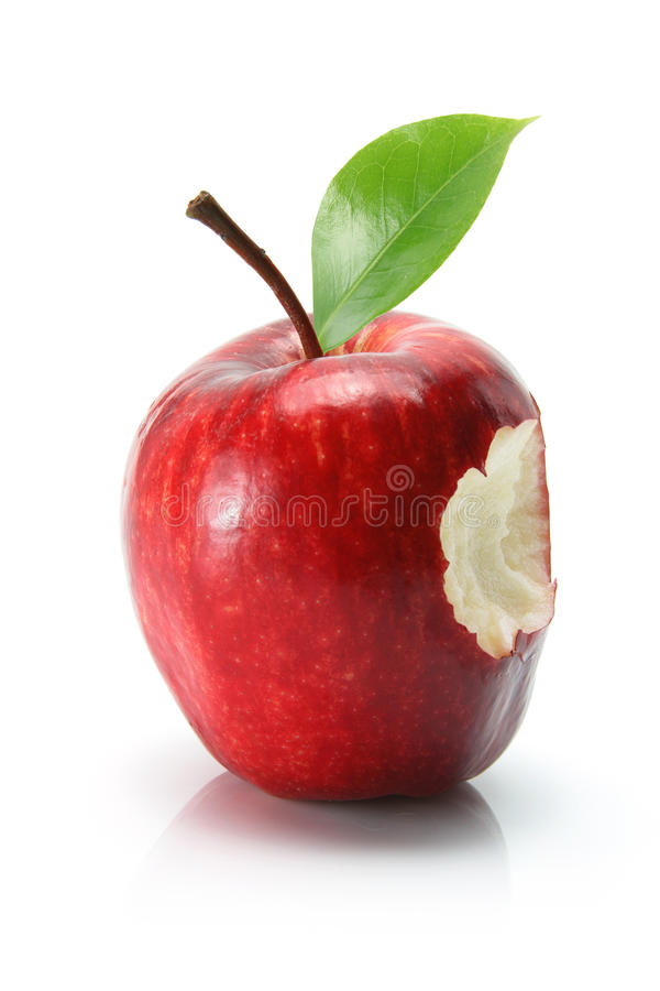 Roter-Deliciousapple stockfotografie