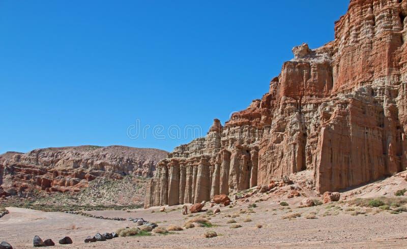 Roter Felsen-Schlucht-Nationalpark Kalifornien USA lizenzfreie stockfotografie