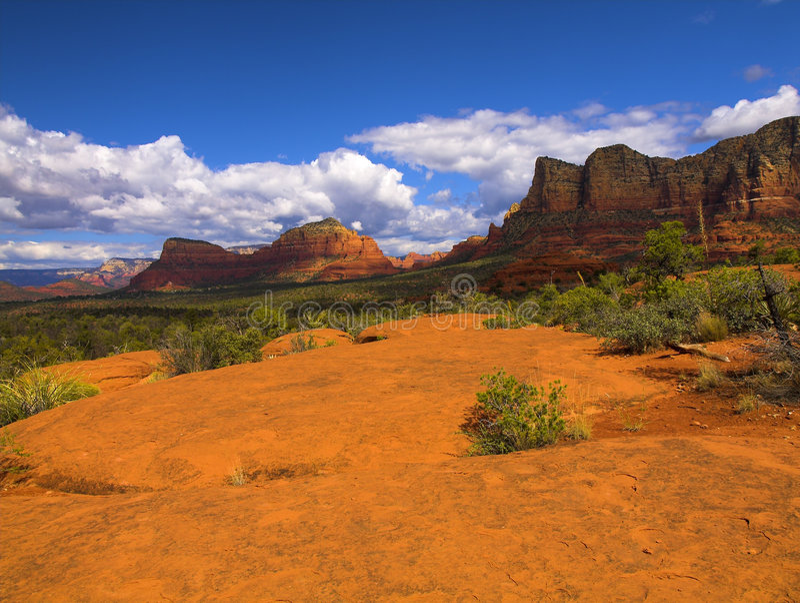 Roter Felsen von Sedona Arizona stockbild