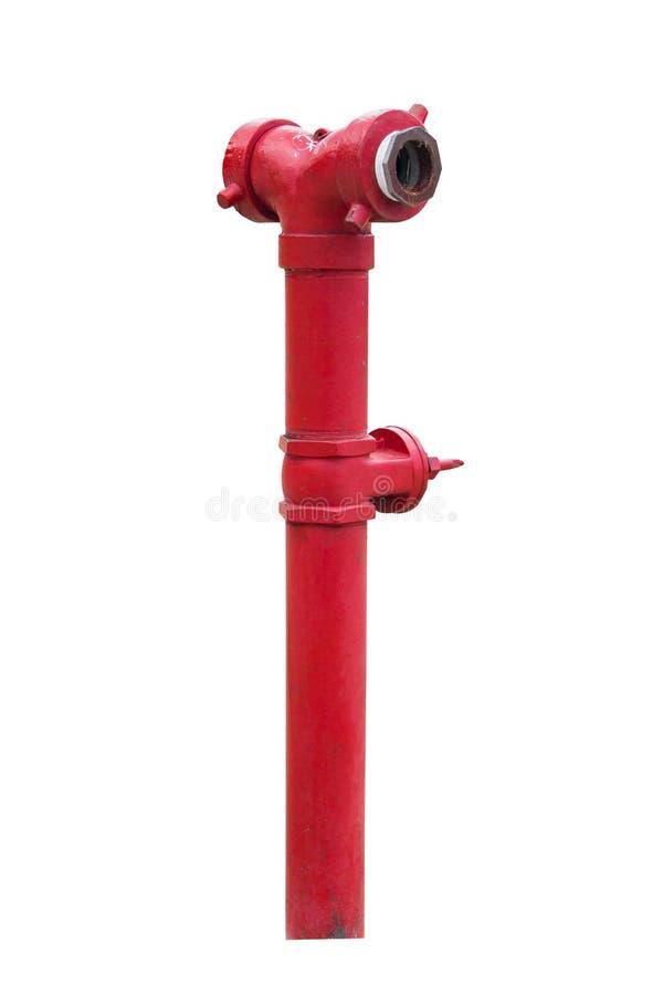 Roter Feuerschutz stockfotos