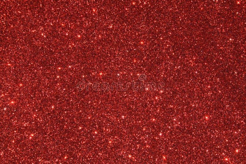 Roter Funkelnhintergrund lizenzfreies stockfoto
