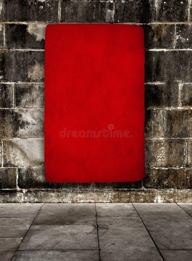 Roter grunge Hintergrund lizenzfreies stockbild