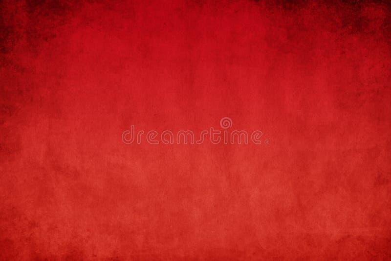 Roter grunge Hintergrund lizenzfreie abbildung