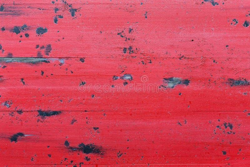 Roter hölzerner Hintergrund stockfoto