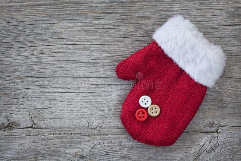 Download Roter Handschuh stock abbildung. Illustration von weiß - 27734879