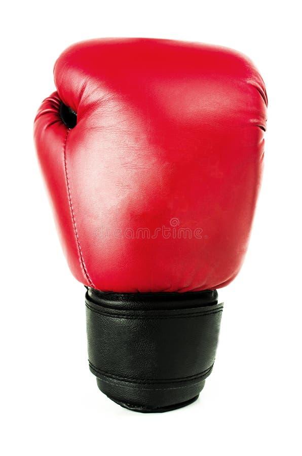 Roter Handschuh für das Boxen lizenzfreie stockfotos