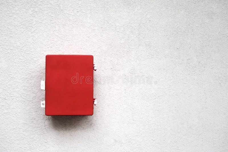 Roter Kasten stockfotografie