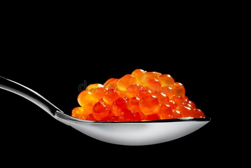 Roter Kaviar stockfotografie