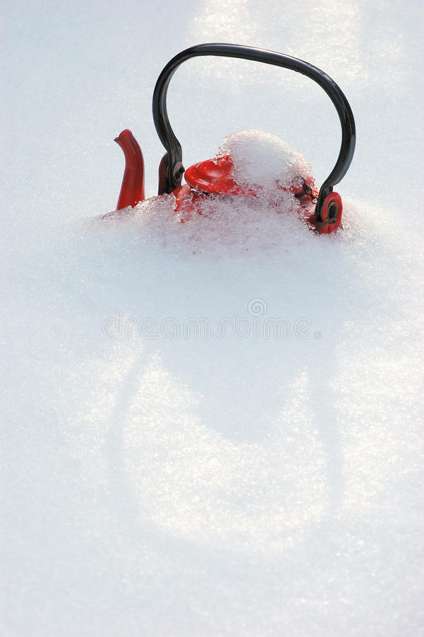 Roter Kessel lizenzfreies stockfoto