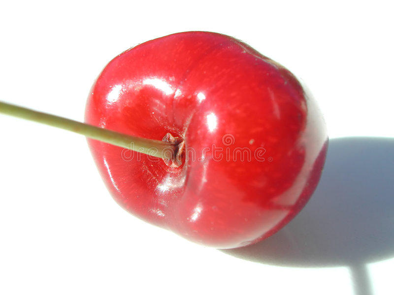 Roter Kirschabschluß oben stockfotos