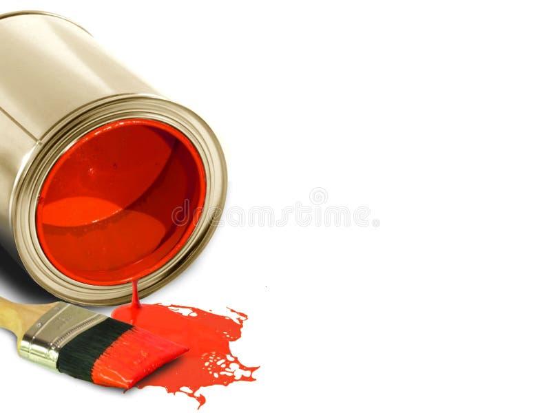 Roter Lack lizenzfreie stockfotografie