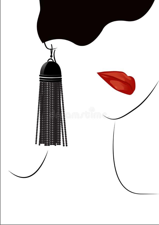 Roter Lippenhintergrund stockfotos
