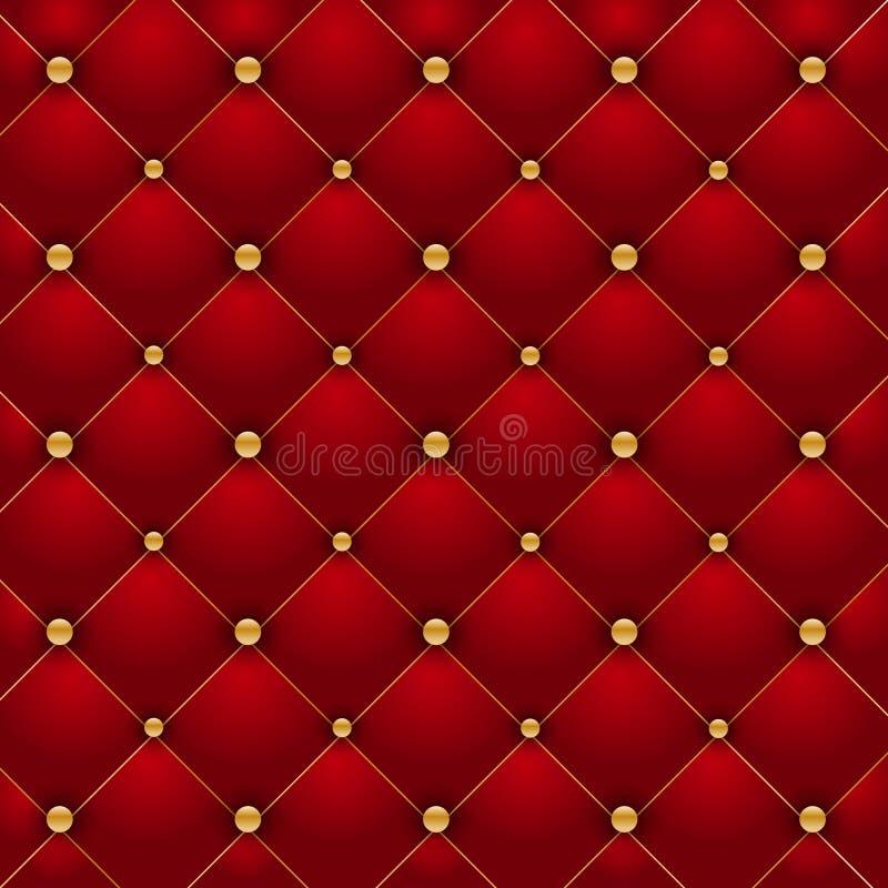 Roter Luxushintergrund vektor abbildung