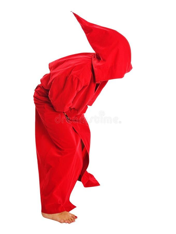 Roter Mantel stockbilder