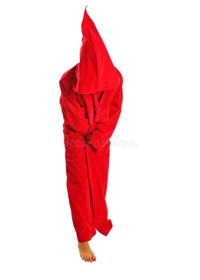 Roter Mantel lizenzfreie stockbilder
