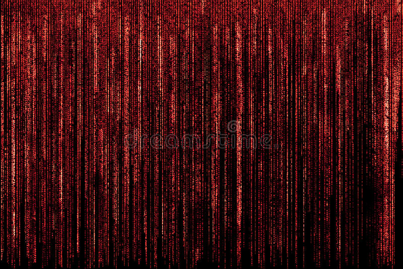 Roter Matrixhintergrund lizenzfreies stockfoto