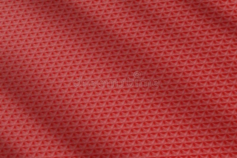 Roter Metallhintergrund lizenzfreie abbildung