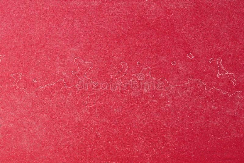 Roter Metallhintergrund von der alten und schmutzigen Wand lizenzfreies stockfoto