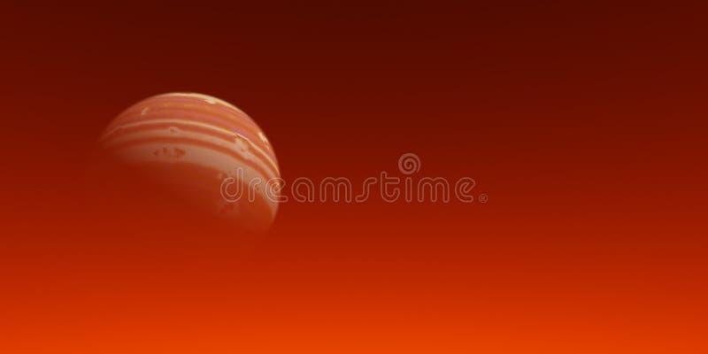 Roter Mond stock abbildung