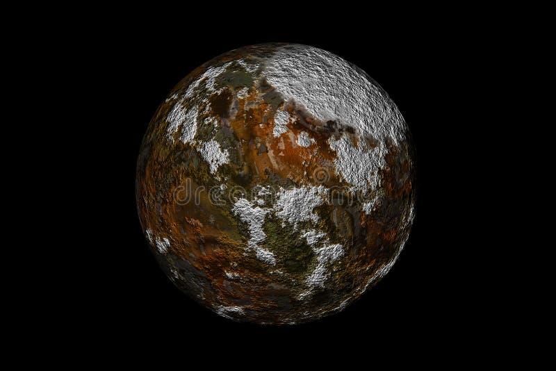 Roter Mond vektor abbildung