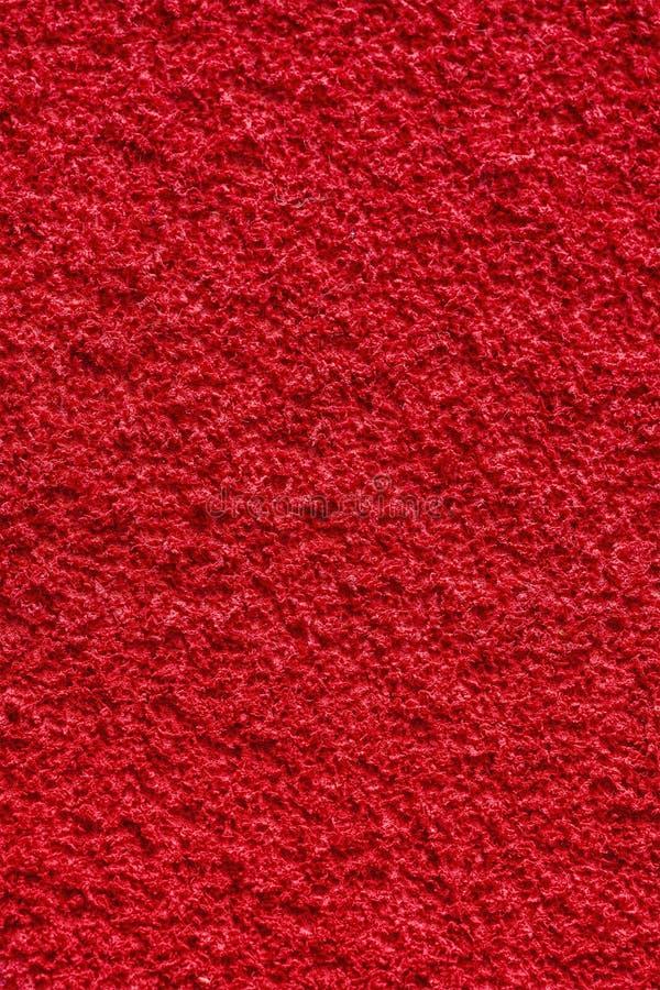 Roter nahtloser Hintergrund und Beschaffenheit der Äthylen-Vinyl-AcetateEVA-Schaum-Materialoberfläche lizenzfreie stockbilder