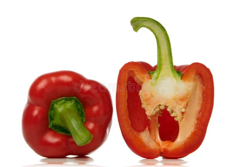 Roter Paprika stockfoto