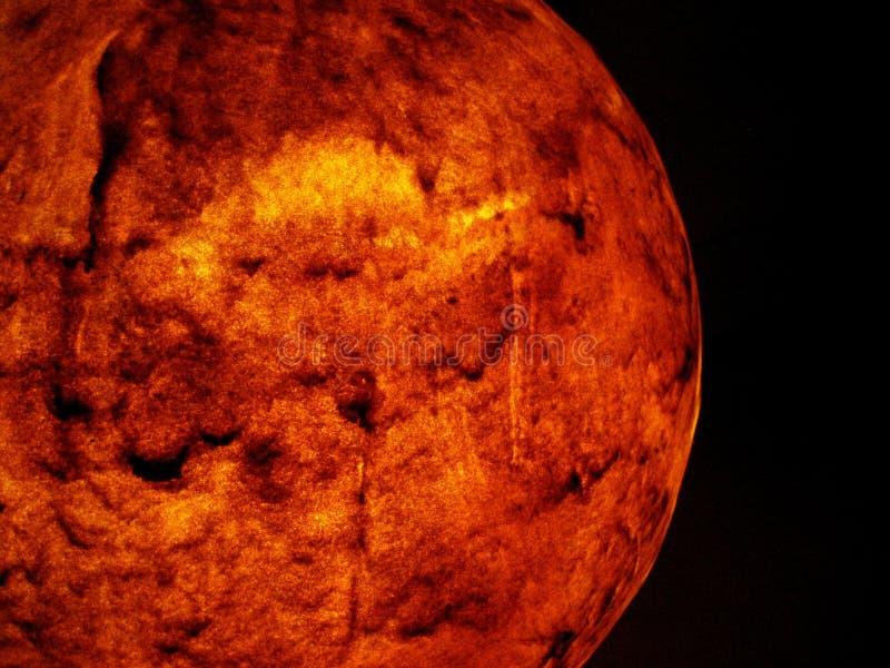 Roter Planet Stockfotografie