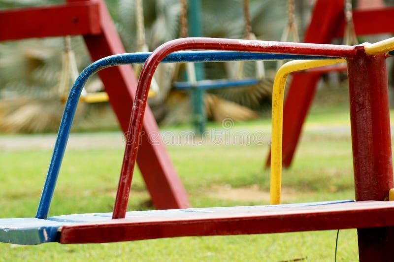 Roter Rad-Park stockfoto