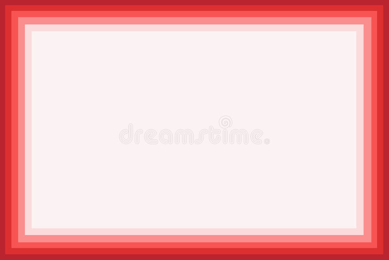 Roter Rand lizenzfreie abbildung