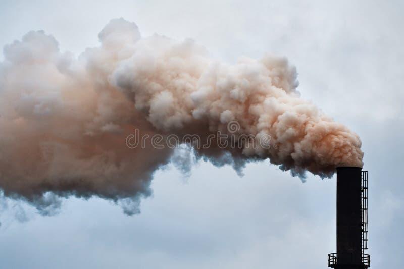 Roter Rauch lizenzfreies stockbild