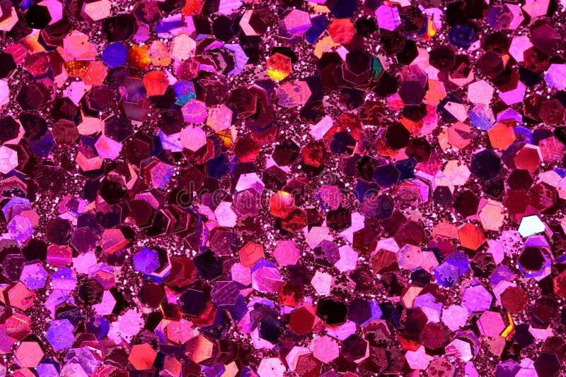 Roter, rosa, purpurroter Hintergrund stock abbildung