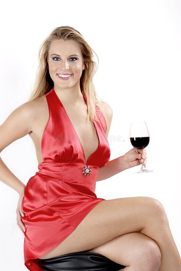 Roter Rotwein stockbilder
