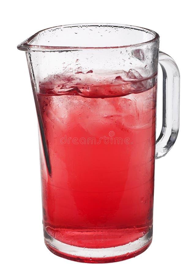 Roter Saft stockfoto