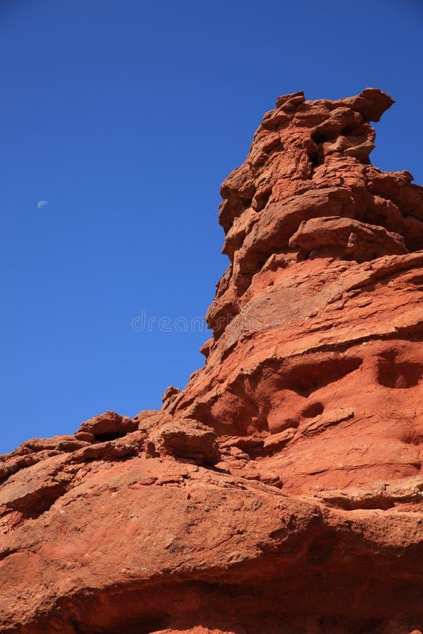 Roter Sandstein stockbild