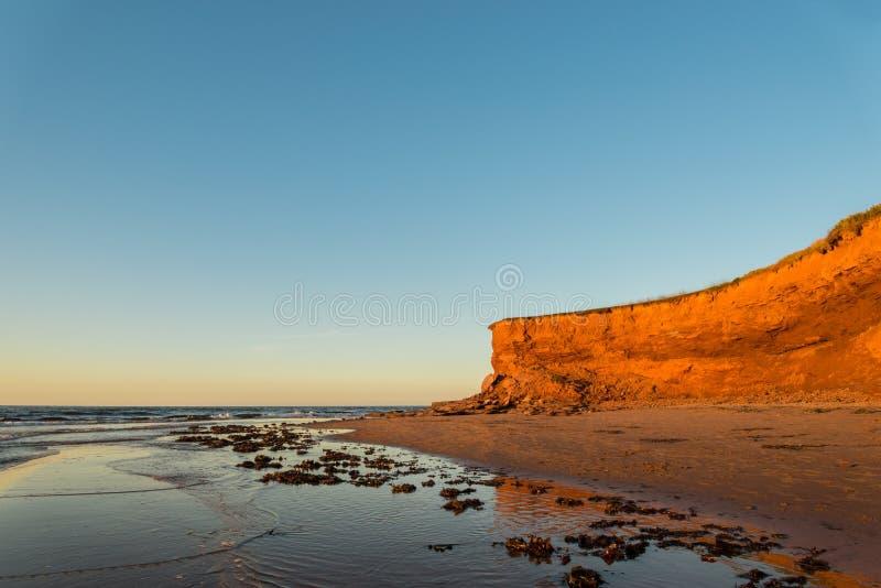 Roter Sandstein-Klippen stockfoto