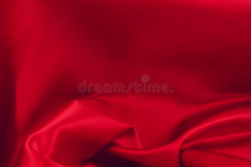 Roter Satin lizenzfreie stockfotografie