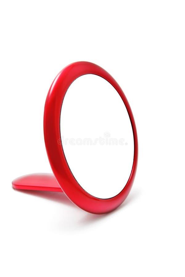 Roter Spiegel stockfotos