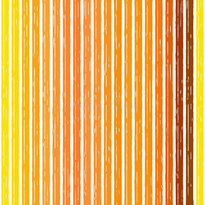 Roter Streifen des orange Hintergrundes gelb heißer Brand stock abbildung
