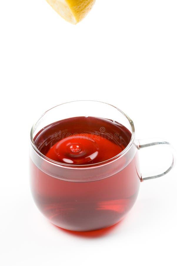 Roter Tee stockfoto