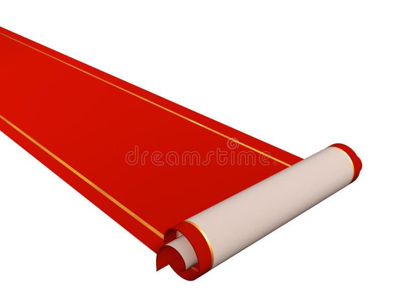 Roter Teppich vektor abbildung